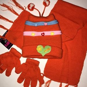 Other - Kids scarf, hat and glove set