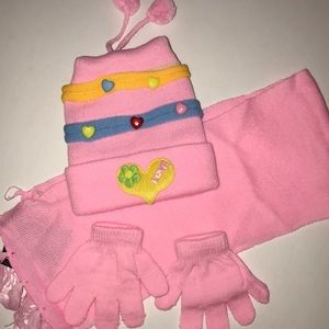 Other - Kids matching scarf, hat and gloves set