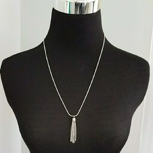 Jewelry - 💫Tassle Sterling Necklace