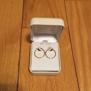 Jewelry - 14KT Gold Hoop Earrings