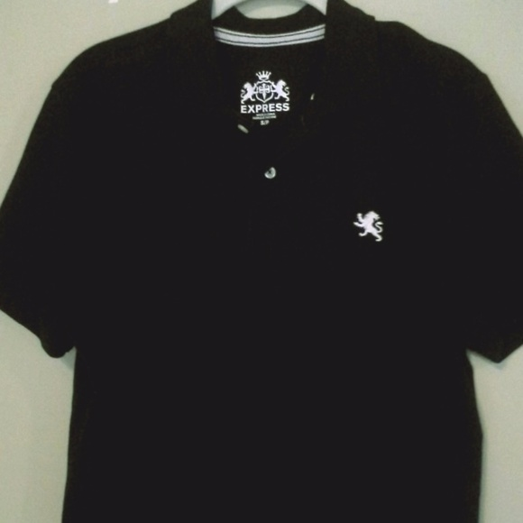 Express Shirts Mens Logo Polo Size Sp Poshmark