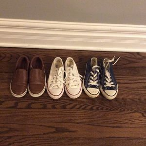 Other - Converse and slip ons