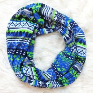 Seahawks Color Infinity Scarf