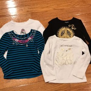 Other - Bundle of Girls Long Sleeve Shirts