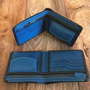 Lot of 2 Men Wallet Genuine Supreme Leather Purse