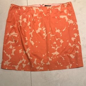 Jcrew mini skirt size 4. Colorful pattern.