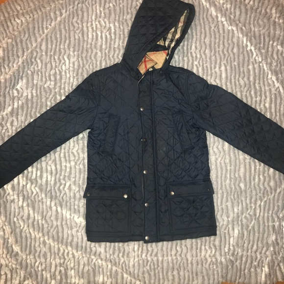 Burberry Quilted Coat Kids