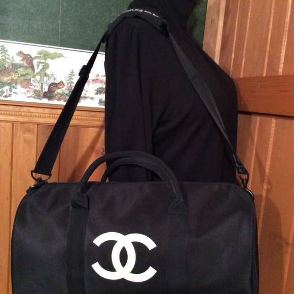 4859ee277248 Chanel vip Bags | Chanel Travelduffle Bag Vip Gift Nylon | Poshmark