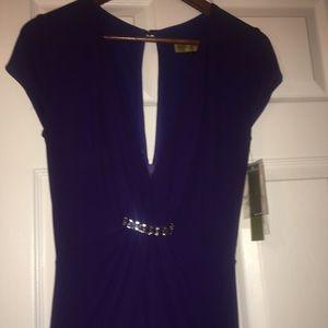 Purple gown Ralph Lauren