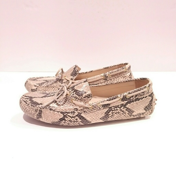 9c79ecad66c Cole Haan Shoes - Cole haan womens 8 snakeskin loafers