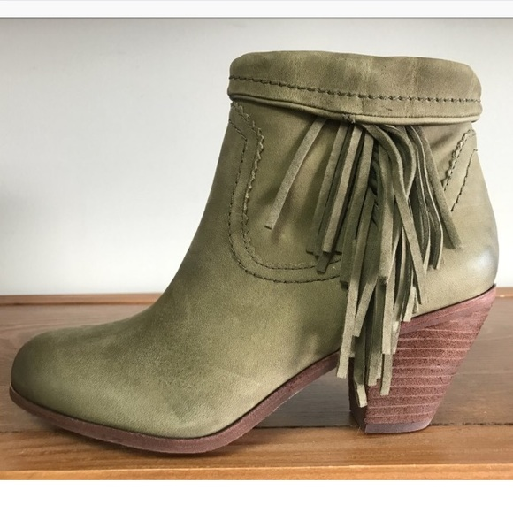 6dbc3460249cf Sam Edelman Louie Moss Ankle Boots Booties