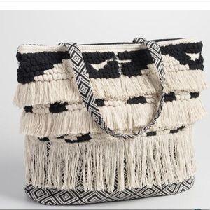 "Handbags - HOST pick!!🎉Boho ""shag"" fringe SNAP tote💕"