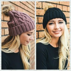 Sale Your Choice Cable Knit Beanie