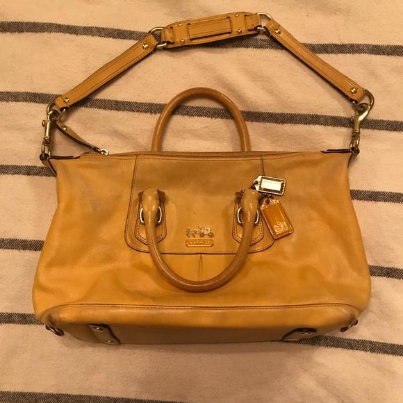 Coach Handbags - Coach Madison Sabrina convertible satchel purse 4b3ee46000d93