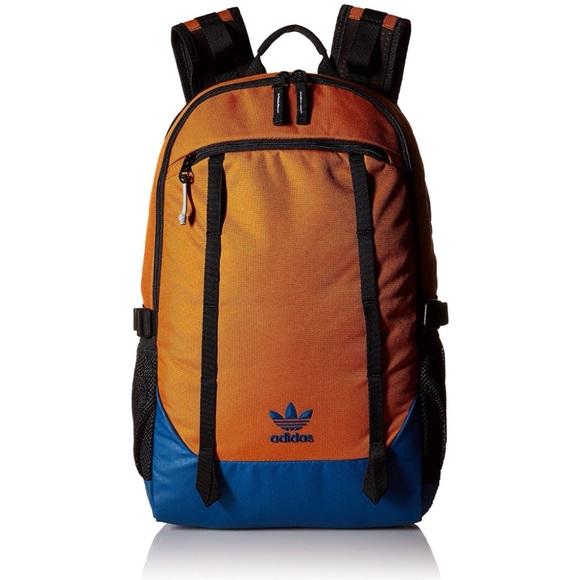 Adidas Originals Unisex Create Backpack - Orange