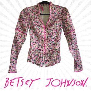 Betsey Johnson Flower Patch Jacket SAMPLE