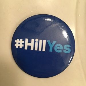 Jewelry - Hillary Clinton large campaign button