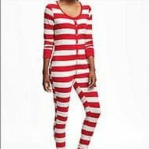 Ladies Old Navy pajamas adult onesie Medium dfa91c471