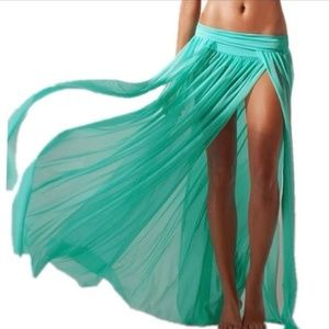 Other - Swimsuit Mesh Sarrong/Cover Skirt