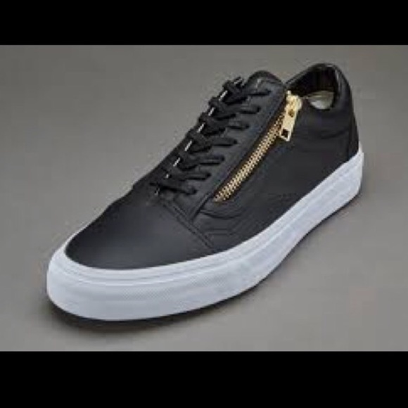 c0bbeab35517 Vans off the wall leather shoes. M 5a32074cc284566ac70144fd