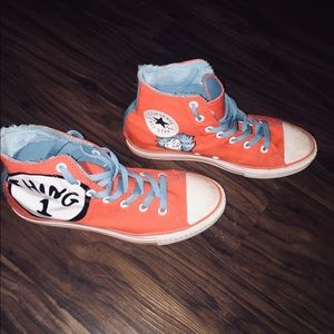 "51efc510e2f5 Converse Shoes - Dr. Seuss converse All Stars ""Thing 1   Thing 2"""