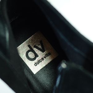 e263e625539 Dolce Vita Shoes - Dolce Vita Silver glitter platform wedge booties