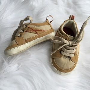 Other - Baby Boy Size 3 Lace Up Crib Sneakers
