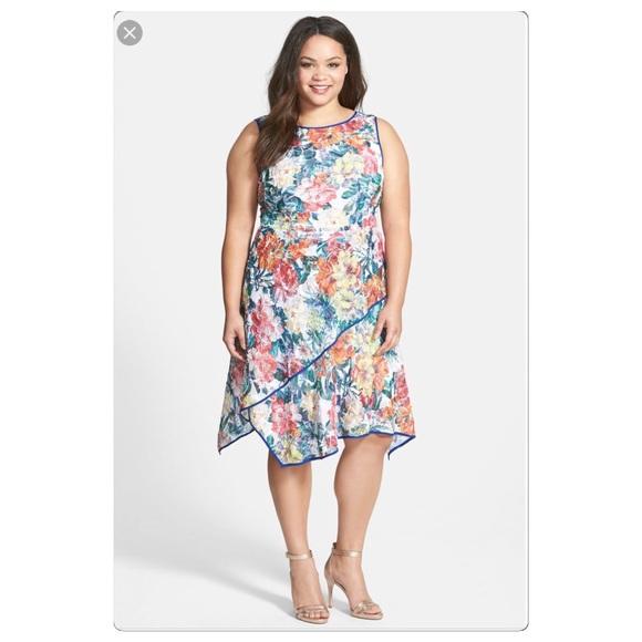 Nwt Adrianna Papell Plus Size Dress | Poshmark
