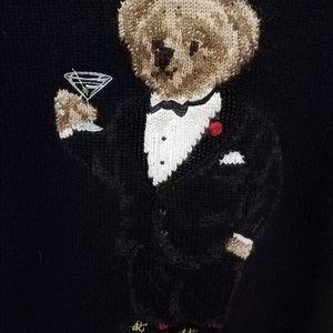 6a7da8fef Polo by Ralph Lauren Sweaters - Polo Ralph Lauren martini polo bear tuxedo  sweater