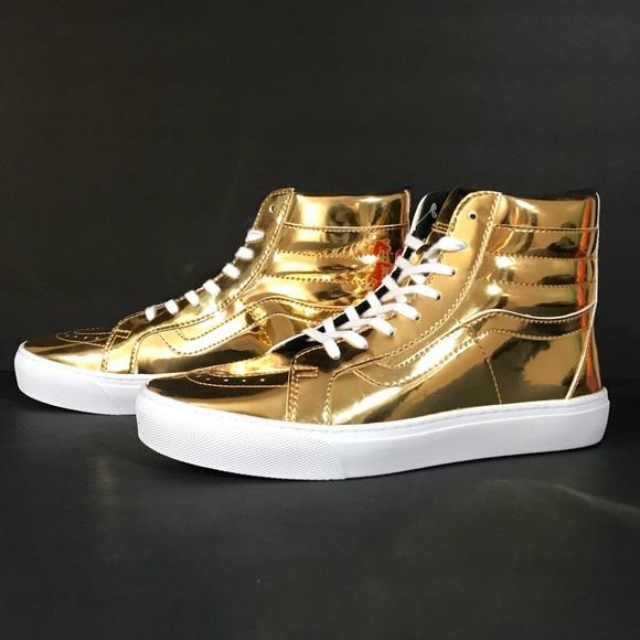 ee6183815975 Vans Sk8 Hi Olympic Gold