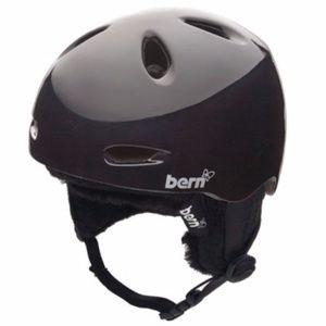 Bern Black Women's Berkeley Ski Helmet