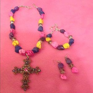 Jewelry - Western sparkle jewelry set