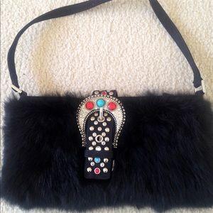 Handbags - ‼️SOLD ‼️Gorgeous  Genuine Fur and Suede Handbag