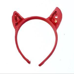 Accessories - CUTE DEVIL'S HORN SEQUIN HEADBAND