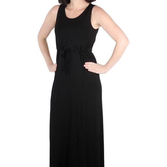 9674763e6d939a Latched Mama Dresses & Skirts - Latched Mama drawstring maxi dress