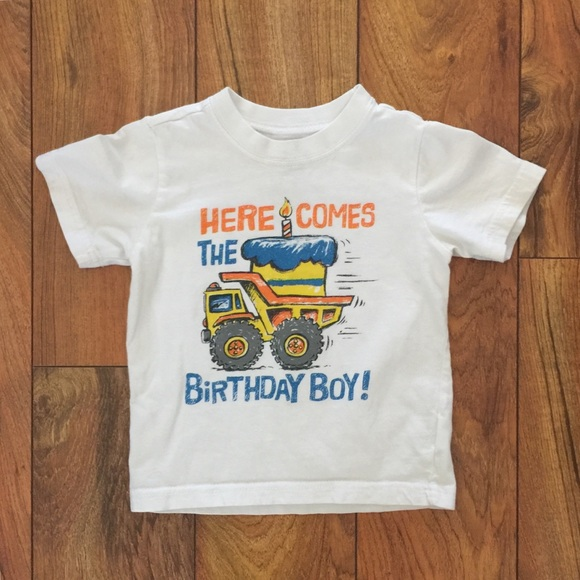 BUNDLE ONLY Childrens Place Birthday Tee