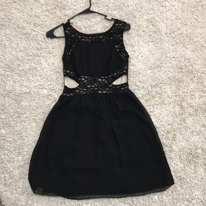 Dresses & Skirts - Black and Tan party dress