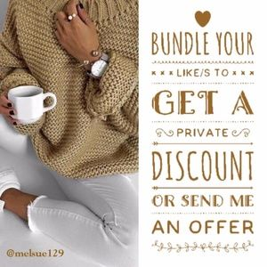 ADD to BUNDLE for a special OFFER from ME!