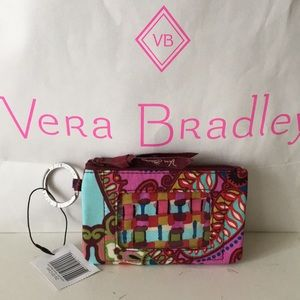 cd75438ddc Vera Bradley Bags - Zip ID Case - Resort Medallion Dillards Pattern