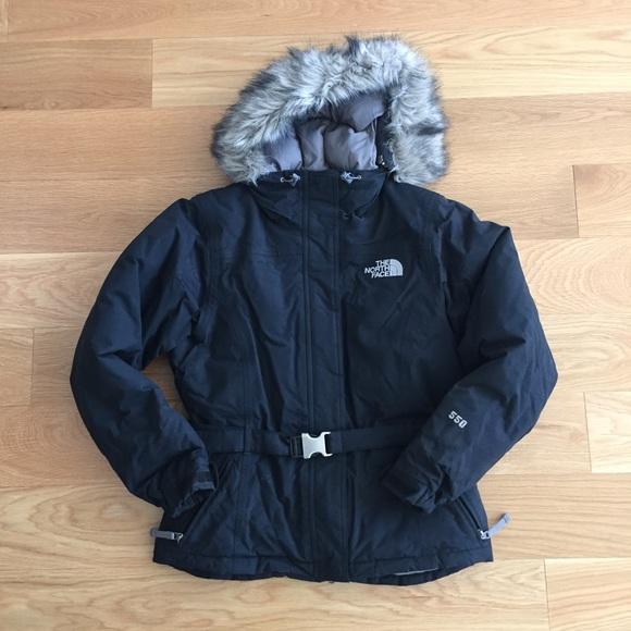 805d0988e The North Face 550 Women's Goose Down Jacket Coat