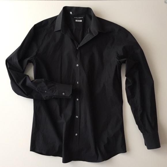 28c652835f84 Dolce & Gabbana Shirts   Men Dolce Gabbana Gold Black Button Down ...