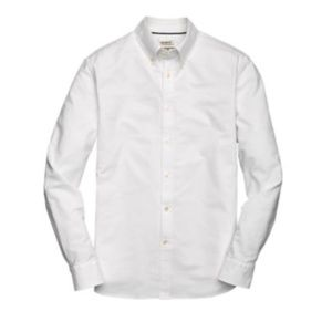 Tailored Fit Button-Down Collar Oxford Sportshirt