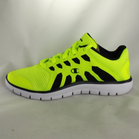 a464b88f0ff Champion Shoes - LIKE NEW Champion Gray Neon Lime Training Shoes