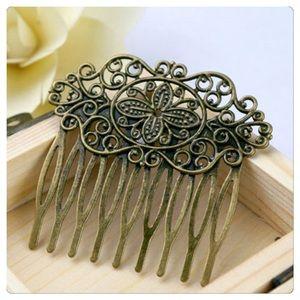 Accessories - COMING SOON! Antique Bronze Comb
