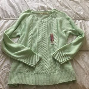 Sweaters - Mint knitted sweater-NWT