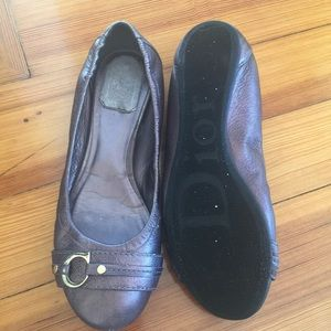 64a209d43a8b Christian Dior Shoes - ⭐️Final Price Drop⭐️Christian Dior Metallic Flats