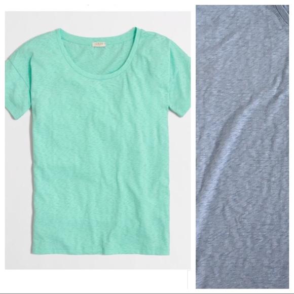 e59ae7385373 J. Crew Tops - J.Crew Sketched Cotton Drop Shoulder T-Shirt