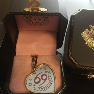 JUICY COUTURE CANCER ZODIAC MIRROR RARE CHARMS