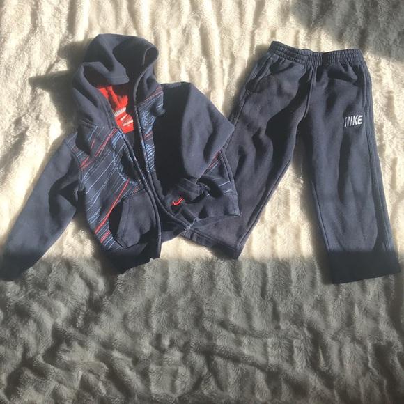 Nike Kids Sweat Suit Set