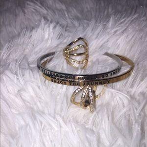 Jewelry - Jewelry bundle/ mantra bands